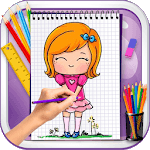 Learn to Draw Lil Cute Girls APK icon
