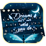 Crescent Moon Quote Keyboard Theme APK