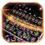 3D Live Colorful Paper Keyboard APK icon