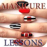 Nail manicure lessons APK icon