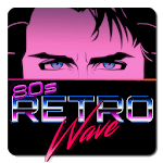 Retrowave Wallpapers - Live Wallpapers,GIF & Radio APK icon
