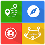 GPS, Tools - Maps, Measure, Explore APK icon
