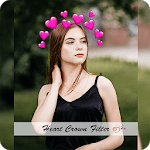 Heart Crown Cute Live Face Maker & Photo Editor HD APK