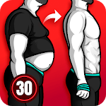 Lose Weight App for Men - Weight Loss in 30 Days APK icon