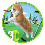 3D Cute Puppies & Dog Animated Live Wallpaper APK icon
