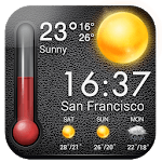 Weather Forecast & Thermometer 2019 APK icon