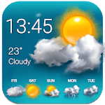 Weather Forecast and Clock Widget APK icon