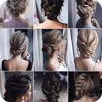 Hairstyles for Women and Girls: Step by Step Guide APK icon