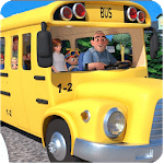 The Wheels On The Bus Video APK icon