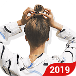 2019 Hairstyles Step by Step APK icon