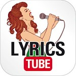 LYRICSTUBE - listen and sing with great artists APK icon