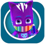 coloring book pj-masks APK icon