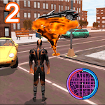Immortal Flame Tornado Hero Vegas Crime Vice Sim 2 APK icon
