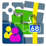 Contacts for Locus Map APK icon