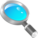 Magnifier, Magnifying Glass with Flashlight APK icon