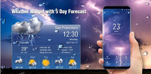Weather forecast app for Android⛈ ☔️ APK : Download v15 1 0 45420