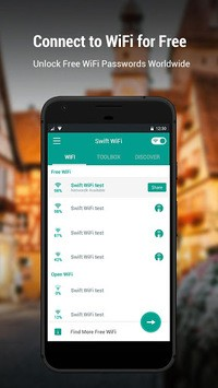 Swift WiFi - Free WiFi Hotspot Portable APK : Download v3 0 218 0510