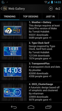 Thousand Clock Widgets APK : Download v1 5 4/GALLERY for Android at
