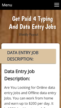 Get Paid 4 Typing Jobs APK : Download v111 2 for Android at