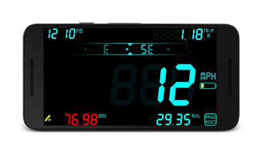 DigiHUD Speedometer APK screenshot 1