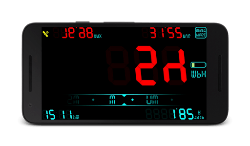 DigiHUD Speedometer APK screenshot 3