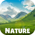 Nature relaxing music APK icon