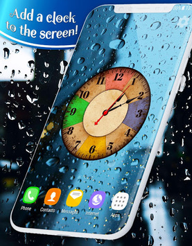 ... Rain Drops Live Wallpaper APK screenshot 2 ...