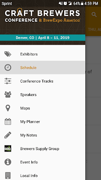 Craft Brewers Conference 2019 APK screenshot 2