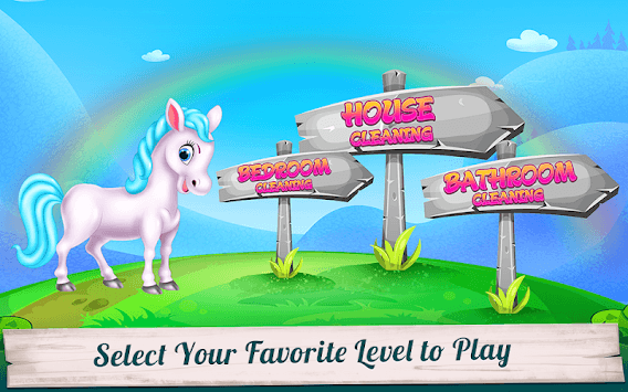 Pony House Cleaning and Decoration APK screenshot 2