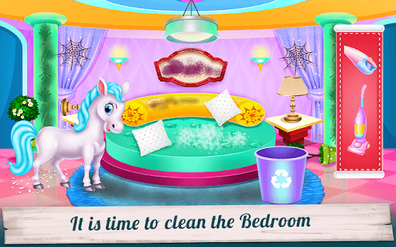 Pony House Cleaning and Decoration APK screenshot 3