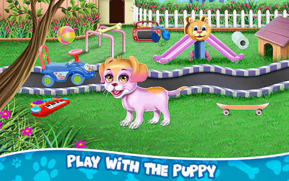 Fluffy Puppy Play and Care APK screenshot 3