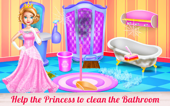 Doll House Cleaning Decoration APK screenshot 3