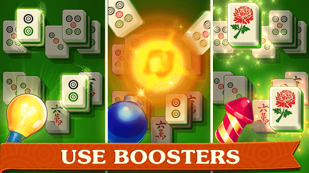 Mahjong Treasures - free 3d solitaire quest game APK