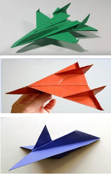 Origami paper airplanes up to 100 meters APK screenshot 3