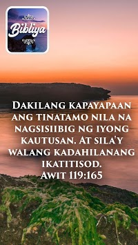Bible in Tagalog APK screenshot 1