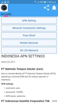 APN SETTING ALL APK : Download v8 2 for Android at AndroidCrew