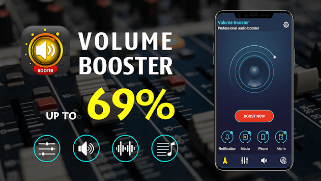Volume Booster for Android: Equalizer Bass Booster APK