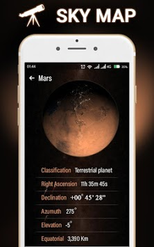 Mobile Sky Map-Live Star Guide APK : Download v1 2 for Android at