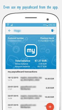 paysafecard – pay cash online APK screenshot 2