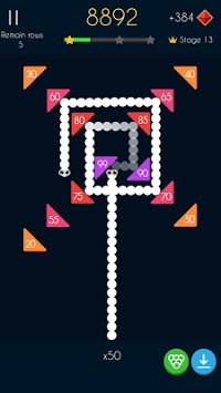 Snake Bricks Breaker APK screenshot 1