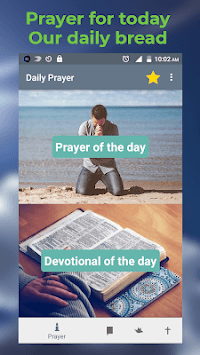 Daily prayers our daily bread devotional for today APK screenshot 1