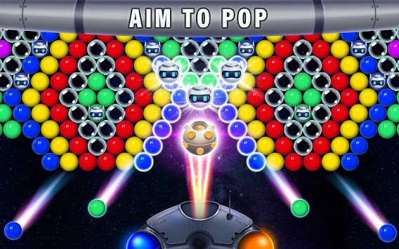 Robot Rush Bubble APK screenshot 1