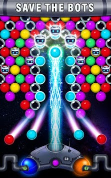 Robot Rush Bubble APK screenshot 3