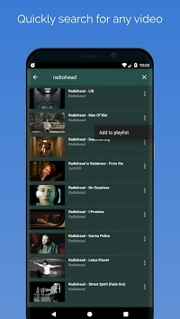 SpotOn alarm clock for YouTube APK screenshot 2