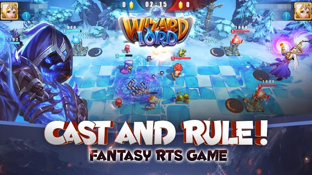 WizardLord: Cast & Rule APK screenshot 1