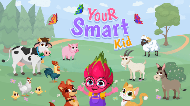 YourSmartKid - Educational cartoons & kids games APK screenshot 1