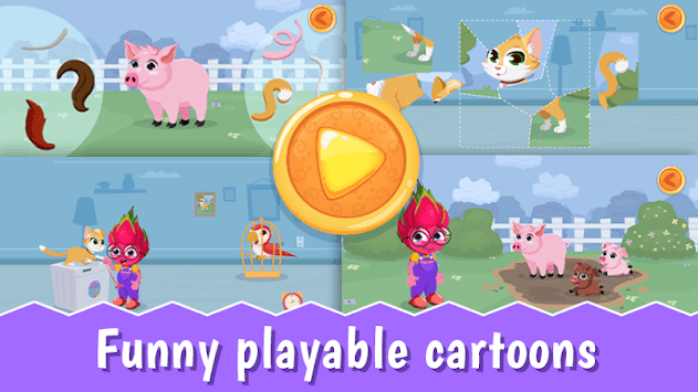 YourSmartKid - Educational cartoons & kids games APK screenshot 2