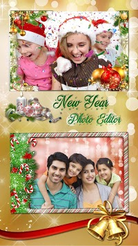 Christmas Photo Frames 2019 🎄 New Year Pic Editor APK screenshot 2