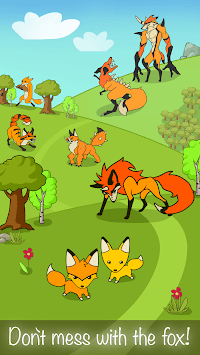 Angry Fox Evolution - Idle Cute Clicker Tap Game APK : Download v1