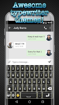 Typewriter Keyboard APK : Download v2 1 for Android at